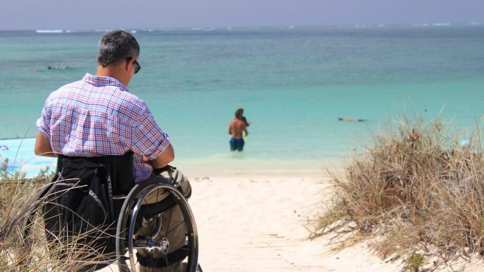 Finding wheelchair friendly outdoor spaces is a challenge.