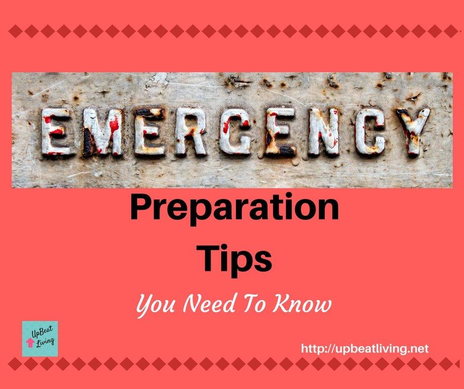 Emergency Preparation Made Simple