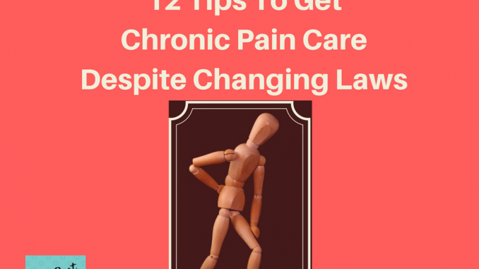 Tips To Get Chronic Pain Care