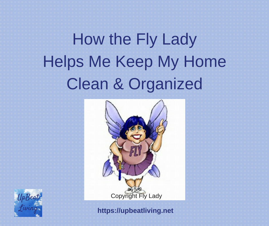 The Fly Lady can help you maintain your home, too.