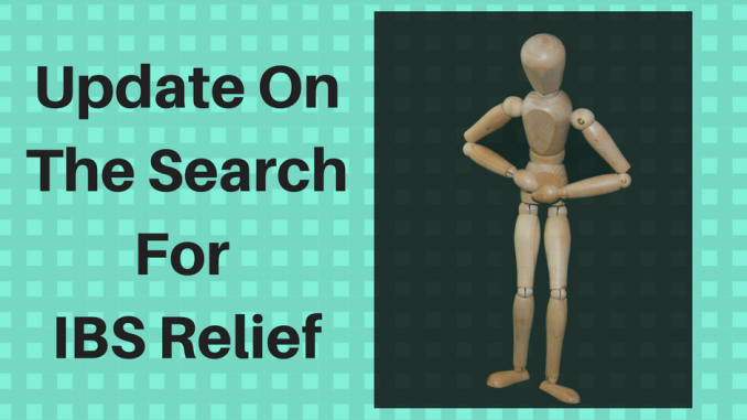 The Search For IBS Relief