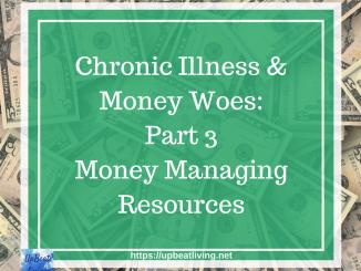 Money Managing Resources