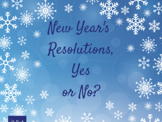 New Year's Resolutions, Yes or No?