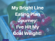 The Bright Line Eating Plan has helped me get rid of 70 pounds of fat!!