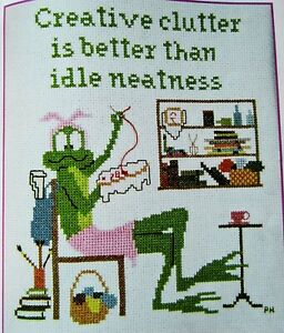Creative Clutter is Better Than Idle Neatness