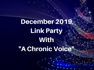 "December Link Party with ""A Chronic Voice"""