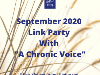 "September 2020 Link Party With ""A Chronic Voice"""