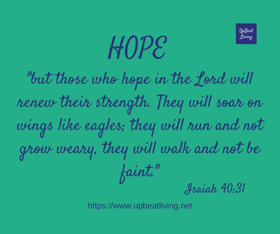 The theme for the first Sunday in Advent is hope.