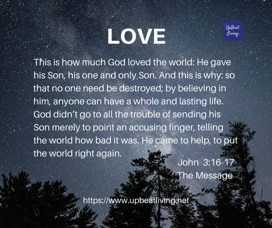Love is the theme for the fourth Sunday in Advent.