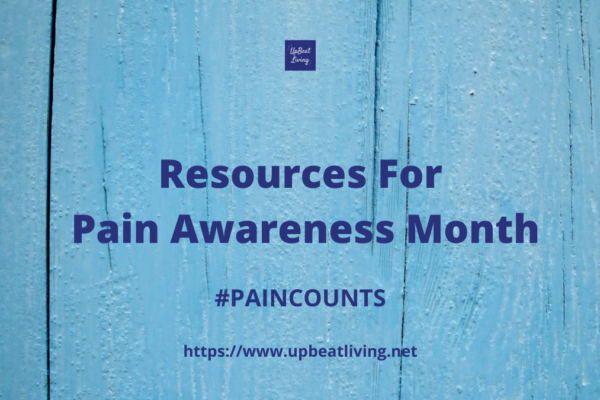 Resources For Pain Awareness Month